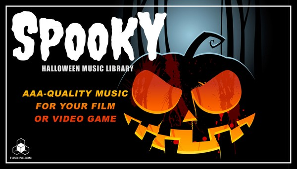 Spooky Halloween Music Library - Scary Cinematic Horror Loops and Stings Sound Pack [Fusehive.com]