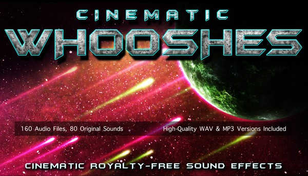 CINEMATIC WHOOSHES - Movie Trailer Swoosh and Whoosh Transition Sound Effects