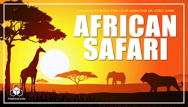 African Safari Music Library - Africa Savanna Grasslands Tribal Wildlife Royalty Free Audio Pack