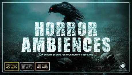 HORROR AMBIENCES - Scary Creepy Background Sound Effect Library - Spooky Halloween Environment Loops