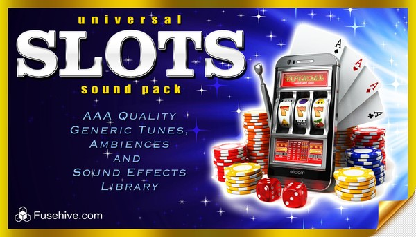Universal Slots Sound Effects Library - Modern Online Slot Game Sounds & Win Tunes, Royalty Free SFX
