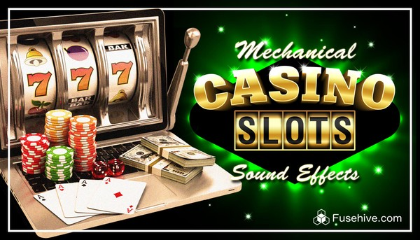 Mechanical Fruit Machine Slots Sound Effects Library - Retro Analog Slot Game Sounds & Win Tunes SFX
