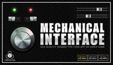 MECHANICAL USER INTERFACE SOUND EFFECTS LIBRARY - Button Clicks, Swipes, Notifications, Achievements