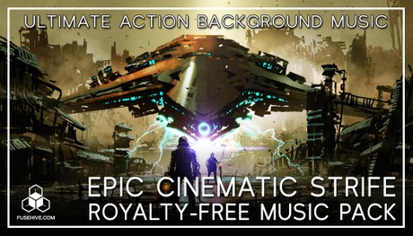 "EPIC MUSIC ""Cinematic Strife"" - Ultimate Inspiring Orchestral Royalty-Free Action Music Soundtrack"