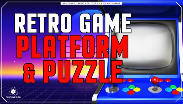 Retro Platform & Puzzle Game Sound Effects Library - Old School Analog Arcade AAA SFX MINI PACK