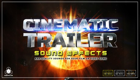 EPIC CINEMATIC TRAILER SOUND EFFECTS LIBRARY, Rise Hit Swoosh Whoosh Drone Drop Jingle Movie Sounds
