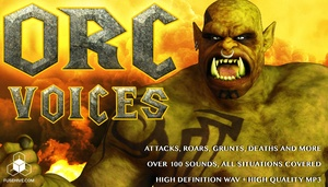 ORC VOICE - Royalty Free Monster Voice Sound Effects Download
