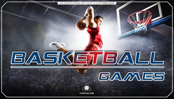 NBA BASKETBALL GAMES SOUND EFFECTS LIBRARY & VOICE OVERS - Basketball Player Royalty Free Sounds SFX