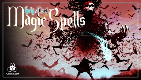 White & Black Magic Sound Effects Library - Medieval Fantasy Dark Witchcraft Holy Healing Spells SFX