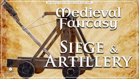 Trebuchet Catapult RPG Game Sound Effects Library - MEDIEVAL FANTASY WEAPONS SIEGE SOUNDS