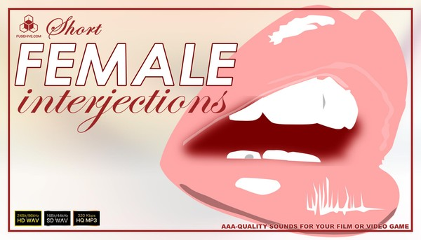 FEMALE VOICES - Royalty Free Short Interjections of Women & Girl Voice Overs Library Sounds Download