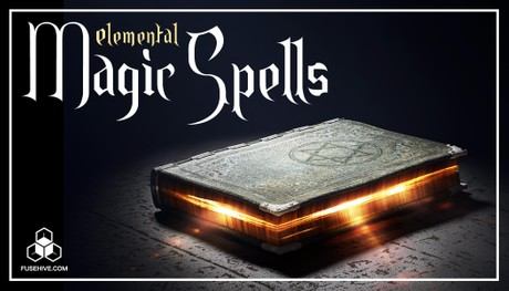 Elemental Magic Sound Effects Library Vol. 1 [Fire, Water, Wind / Air, Earth & Wood Fantasy Spells]