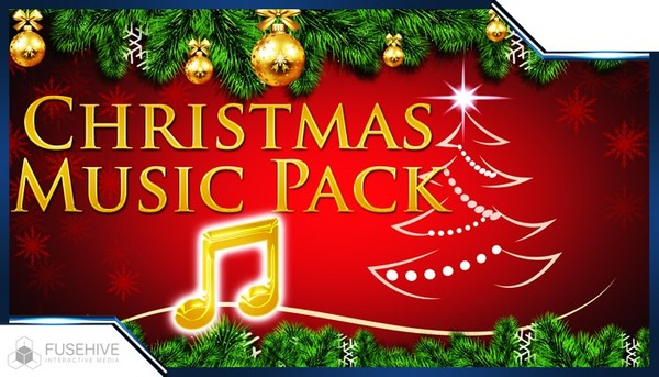 CHRISTMAS MUSIC PACK - Christmas & Winter Holiday Background Music Loop and Sting Library