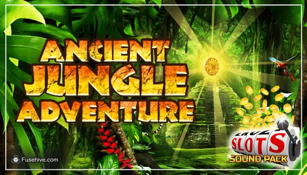 Aztec and Mayan Themed Slot Game Music and Sound Effects Library [Ancient Jungle Adventure Slots]