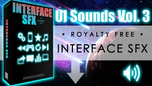 Interface SFX - UI Sounds Vol. 3