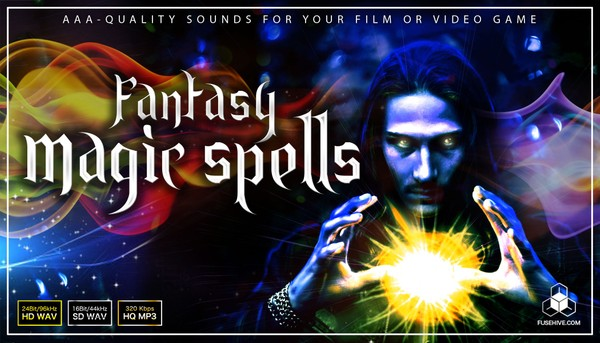 Medieval Fantasy Magic Sound Effects Library - Elemental, White (Holy) and Black Magic Sound Pack
