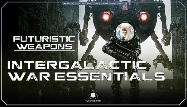 Futuristic Sci-Fi Advanced War Technology Sound Effects Library - Science Fiction Warfare MINI PACK
