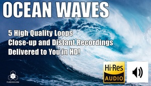 SEA / OCEAN WAVES - Royalty Free Nature Background Sounds
