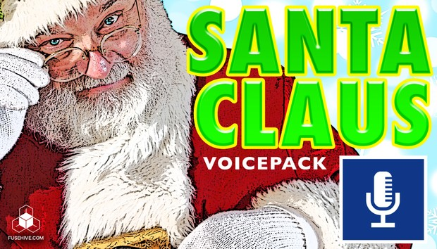 SANTA CLAUS VOICE - Royalty Free Sound Effects, Christmas Sound Effects Library
