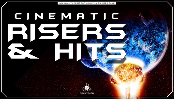 Cinematic Risers & Hits Sound Effects Library - Trailers Promotional Teaser Videos Sounds MINI PACK