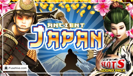 Japanese Slots Music & Sound Effects Library, Samurai Geisha Ninja Shogun Emperor Sakura Casino SFX