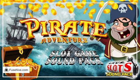 PIRATES! Casino Slot Game Music & Sound Effects Library - Caribbean Adventure Royalty Free SFX Audio