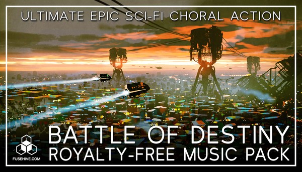 """EPIC MUSIC """"Battle of Destiny"""" - Ultimate Inspiring Orchestral Royalty-Free Action Music Soundtrack"""