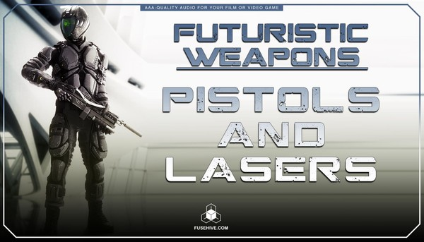 Futuristic Sci-Fi Lasers & Blasters Weapons Sound Effects Library - Science Fiction War MINI PACK