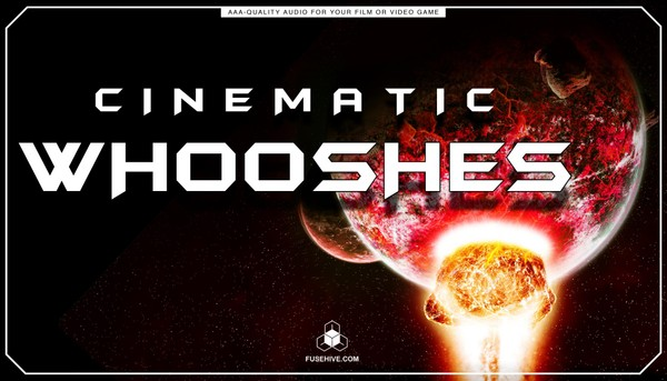 Cinematic Whooshes Sound Effects Library 01 - Trailers Promotional Teaser Videos Woosh SFX MINI PACK