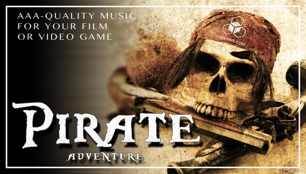 Epic Pirate Adventure Music Pack - Medieval Crew AAA Royalty Free Themes Background Loops Stingers