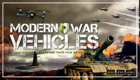 MILITARY VEHICLES, ARTILLERY, MARINE & AIR FORCE WARFARE SOUND EFFECTS LIBRARY - Royalty Free Sounds
