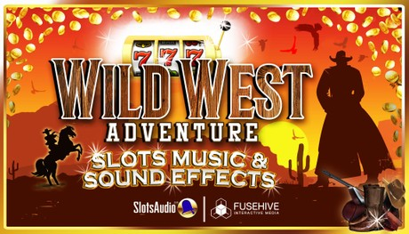 Wild West Country Casino Slots - Western Cowboy Ranch Slot Game Royalty Free Sound Effects Library