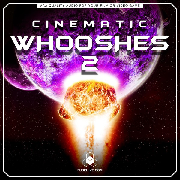 Cinematic Whooshes Sound Effects Library 02 - Trailers Promotional Teaser Videos Woosh SFX MINI PACK