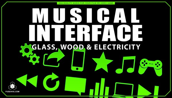 Glass, Wood & Electricity User Interface Sound Effects Library - Musical UI SFX MINI PACK