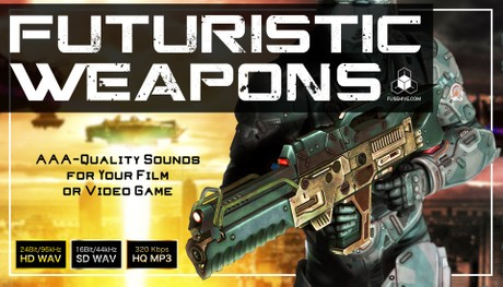 FUTURISTIC WEAPONS SOUND PACK - Royalty Free Sci-Fi Future Weapon Sound Effects Library [SFX Pack]
