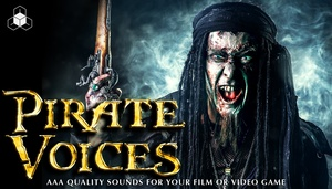 PIRATE VOICES - Royalty-Free Voice SFX Download