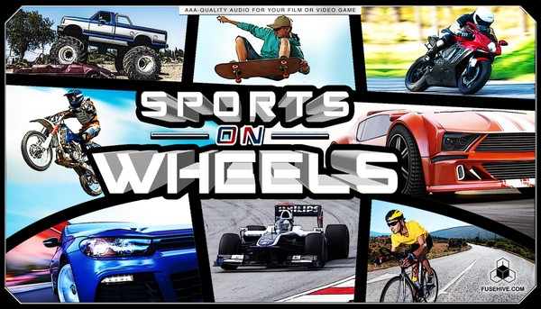 CAR RACING, BICYCLES, SKATEBOARDING, and MOTORSPORTS SOUND EFFECTS LIBRARY – Motorcycles Racecars