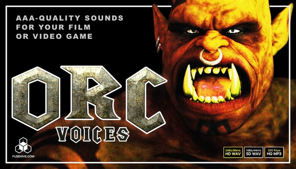 ORC VOICES - Fantasy Mythological Middle Earth Medieval Monster Creatures Voice Over Samples Library