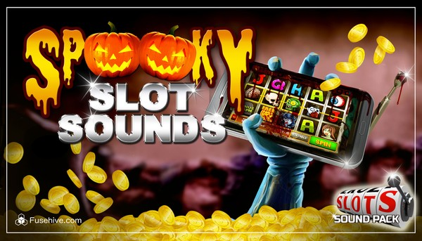 SPOOKY CASINO SLOT GAME SOUNDS - Scary Music and Sound Effects SFX Library for Horror and Halloween