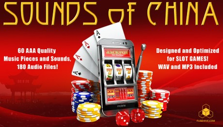 CHINESE SLOT GAME SOUND PACK - China Themed Royalty Free Music and Sound Effects for Slots