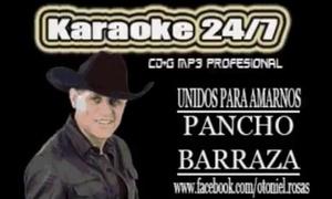 UNIDOS PARA AMARNOS - KARAOKE - PANCHO BARRAZA
