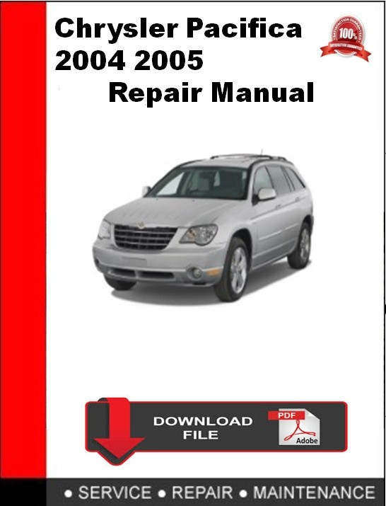 chrysler pacifica 2004 pdf