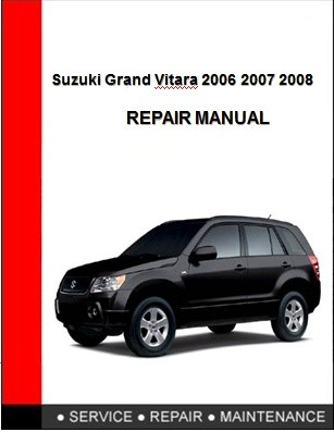 suzuki grand vitara 2003 workshop service repair manual