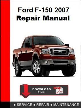 Ford F-150 2007 Repair Manual