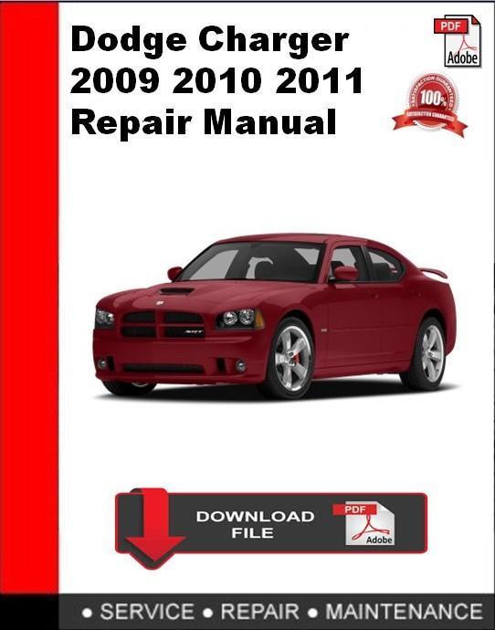 Dodge Charger 2009 2010 2011 Repair Manual