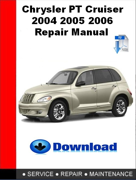 Chrysler Pt Cruiser 2004 2005 2006 Repair Manual Autoservicerepair