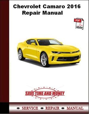 2016 camaro service manual pdf
