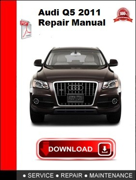 Audi Q5 2011 Repair Manual
