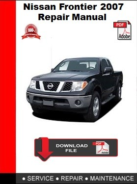 2007 nissan xterra repair manual pdf