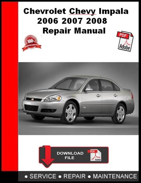 2007 chevy silverado factory manual